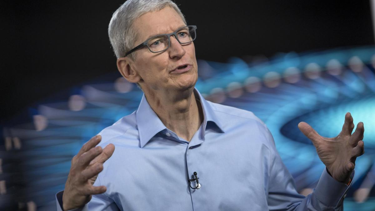Tim Cook KI Apple